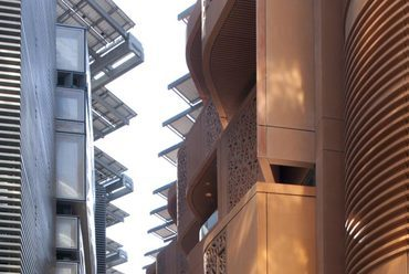 Masdar Institute of Science and Technology. Forrás: Foster+partners