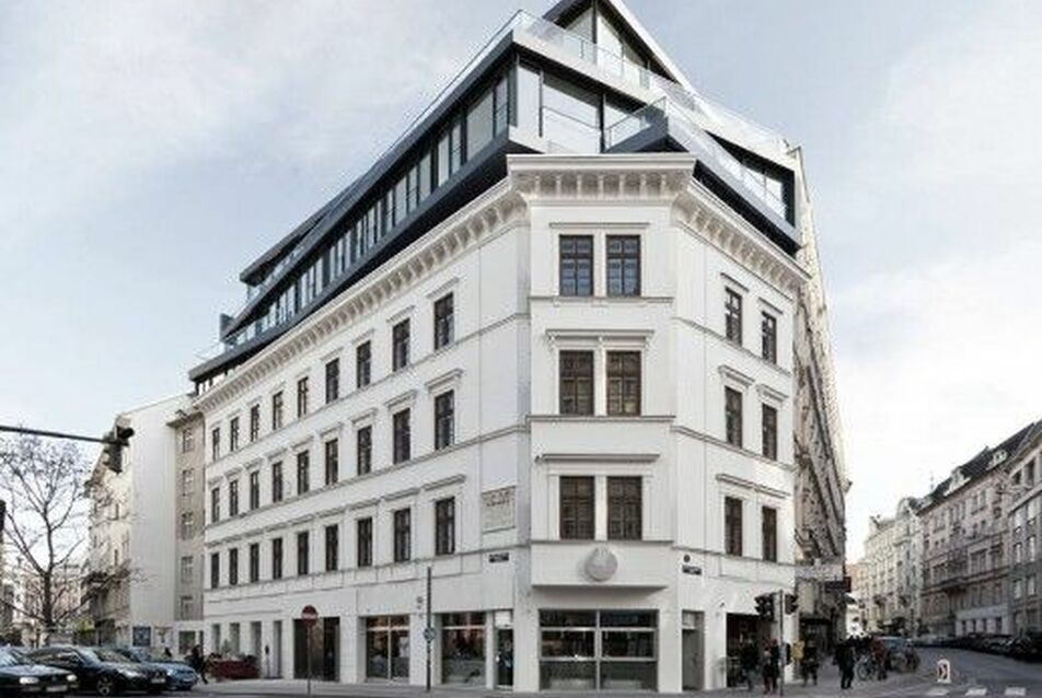 Bécs, Margaratenstrasse 9., Josef Weichenberger Architects + Partner, 2012., forrás: weichenberger.at